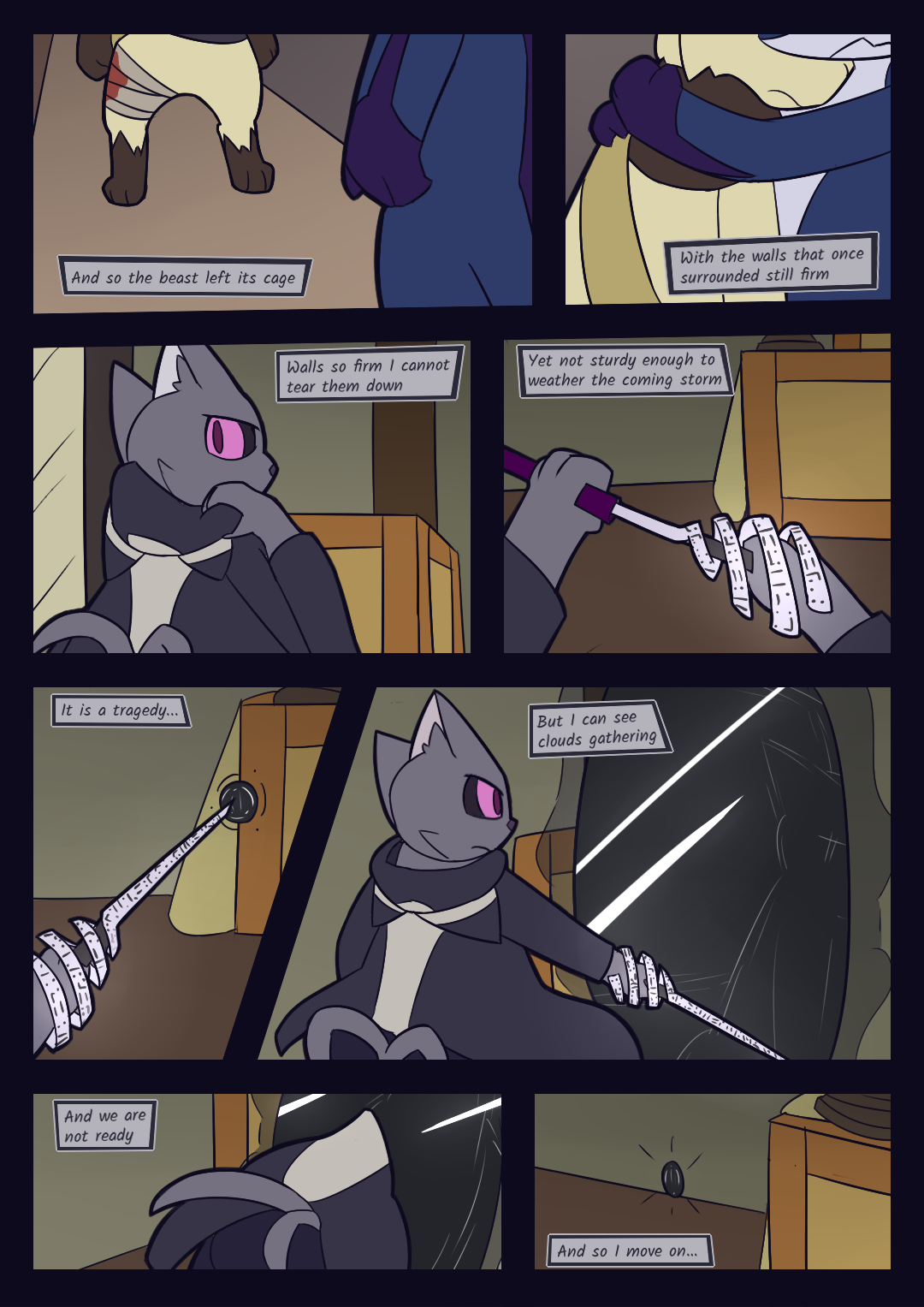 Nocturnal: THE CHAINS THAT BIND - Final Page
